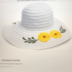 Collection Eighteen At The Bay Large Brim Sun Hat f428df244609